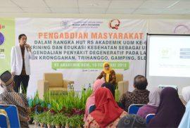 Edukasi Kesehatan oleh dr. RM. Agit Sena Adisetiadi, Sp.PD – Dokter Spesialis Penyakit Dalam RSA UGM