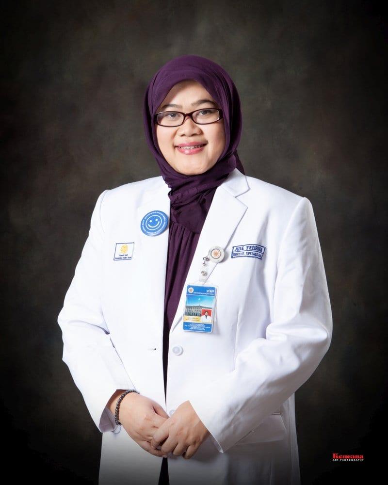 dr. Ade Febrina Lestari., M.Sc., Sp.A